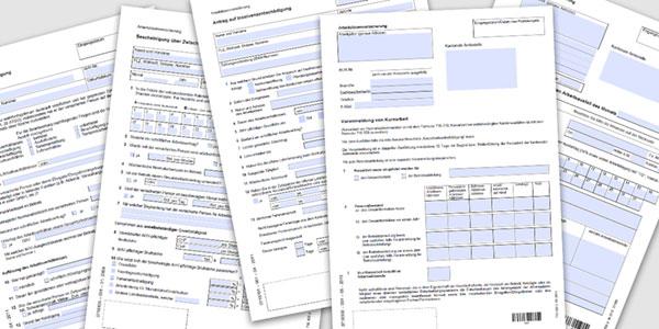 formulare und merkbltter - Arbeitgeberbescheinigung Muster