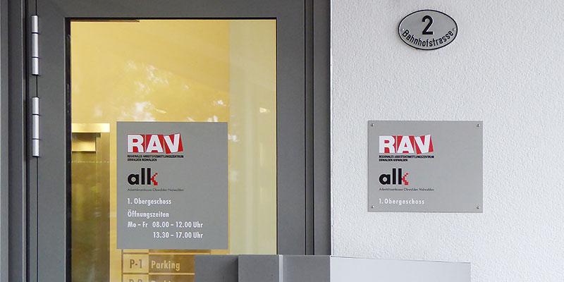 RAV OWNW Eingang